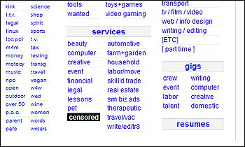 Adult Services Section of Craigslist Shuts Down - Moonhowlings