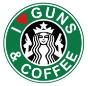 guns and starbucks