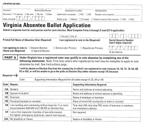 Old Ballot Application